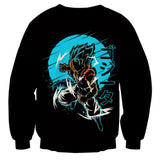 Dragon Ball Gogeta Kanji Anime Theme Sweatshirt - Game Geek Shop