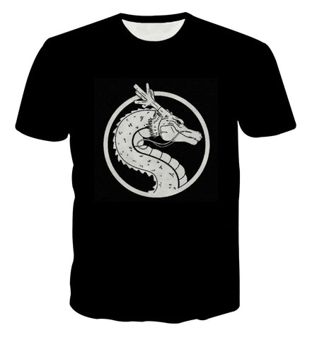 Dragon Ball Shenron Minimalist T-shirt - Game Geek Shop