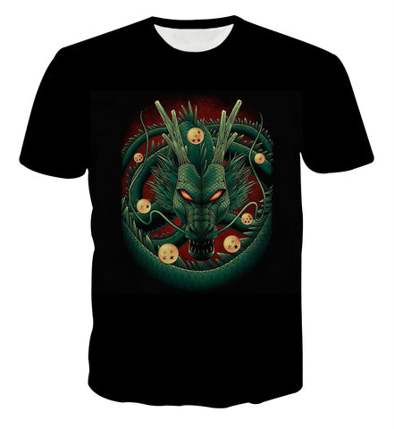 Dragon Ball Shenron Portrait T-shirt - Game Geek Shop