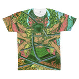 One Piece Zoro Swordman Atula Skill Cool Fan Art T-shirt - Game Geek Shop