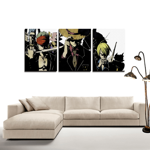 One Piece Japan Anime Theme Canvas Wall Art Decor - Game Geek Shop