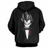 Dragon Ball Vegeta God Father Saiyan Hoodie - Game Geek Shop