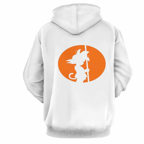 Dragon Ball Goku Minimalist Style Hoodie - Game Geek Shop