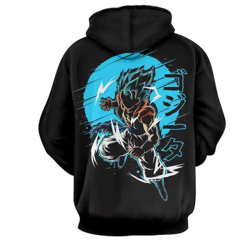 Dragon Ball Gogeta Kanji Anime Hoodie - Game Geek Shop