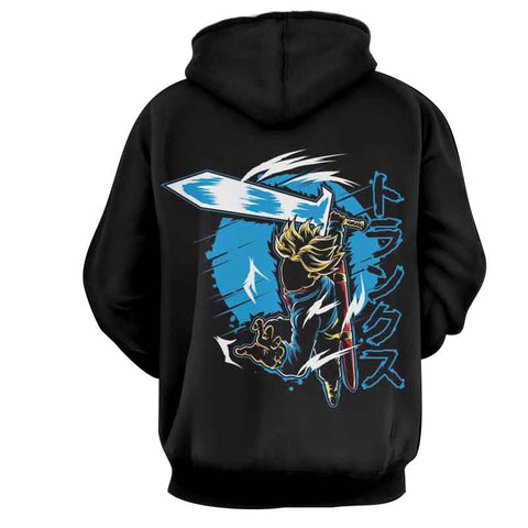 Dragon Ball Future Trunks Super Saiyan Hoodie - Game Geek Shop