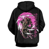 DBZ Goku Black Rose Anime Theme Hoodie - Game Geek Shop