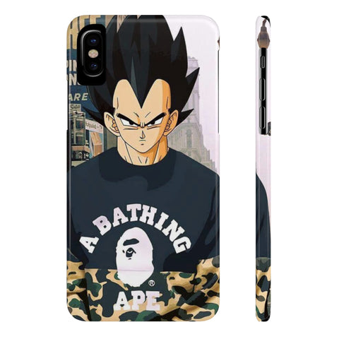 Dragon Ball Vegeta BAPE Dope Hypebeast Phone Case - Game Geek Shop