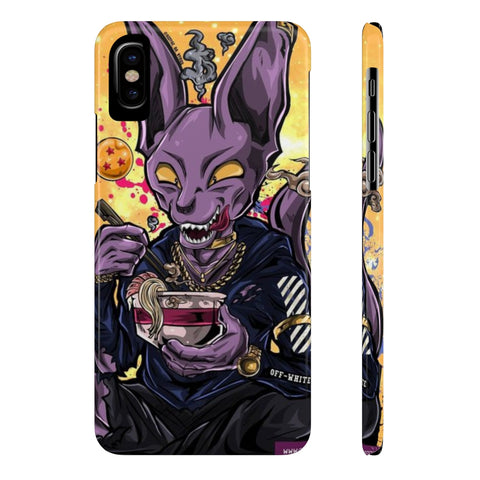 Dragon Ball Beerus Hypebeast Design Phone Case - Game Geek Shop