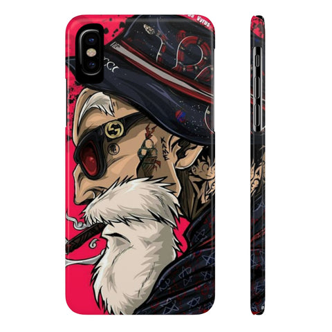 Dragon Ball Master Roshi Gucci Gang Phone Case - Game Geek Shop