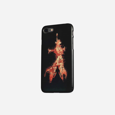 One Piece Mihawk Portrait Standing Phone Case - Game Geek Shop