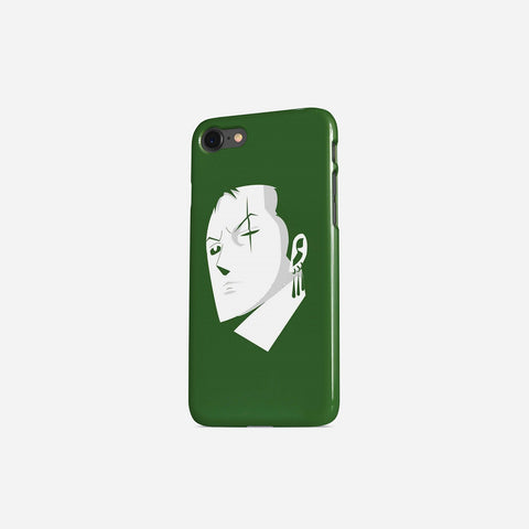 One Piece Zoro Portrait Minimalist Phone Case - Game Geek Shop