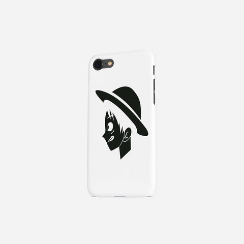 One Piece Luffy Portrait Minimalist Phone Case - Game Geek Shop