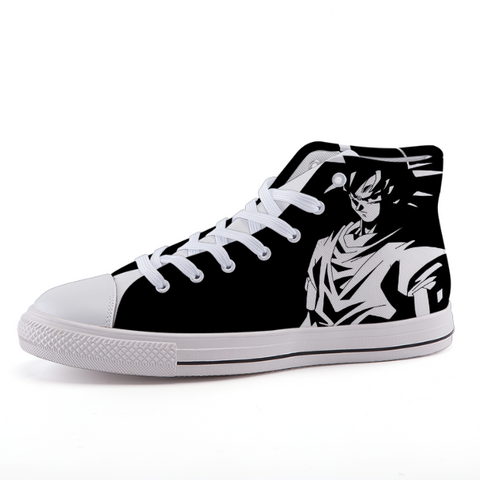 Dragon Ball Goku Simple Design Anime Sneaker Shoes - Game Geek Shop