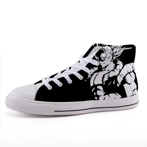 Dragon Ball Gogeta Monotone Theme Cool Sneaker Shoes - Game Geek Shop