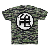 Dragon Ball Master Roshi King Kai Symbol Dope T-shirt - Game Geek Shop