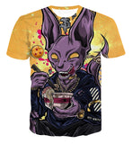 Dragon Ball Beerus Hypebeast Design T-Shirt - Game Geek Shop