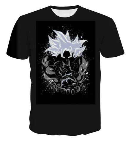 Dragon Ball Goku Kamehameha Anime T-shirt - Game Geek Shop
