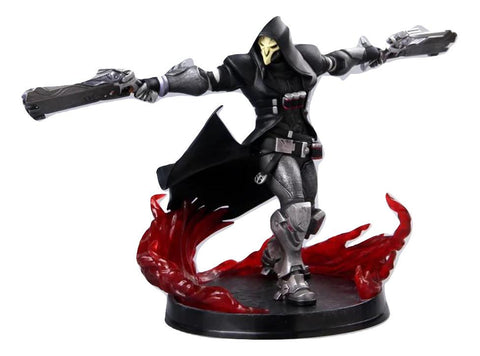 Overwatch Reaper Death Blossom Cool Gaming Design PVC Figure - Game Geek Shop