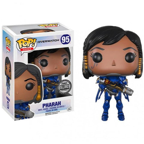 Overwatch Hero Pharah Cute Chibi Design Game Theme Figure - Game Geek Shop