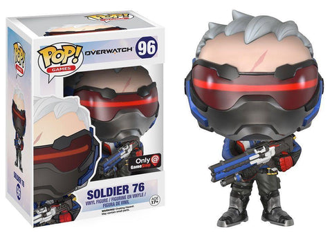 Overwatch Hero Soldier 76 Cute Chibi Design Game Figure - Game Geek Shop