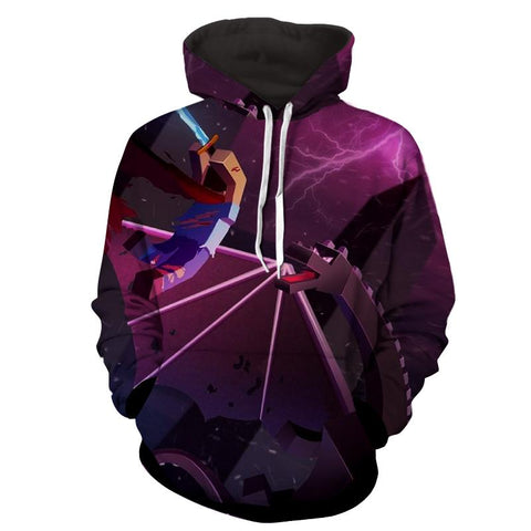 Minecraft Artwork Gaming Design Ender Dragon Cool Hoodie - Game Geek Shop
