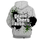 GTA 5 Logo Legendary Game Dope Design Full Print Hoodie - Game Geek Shop