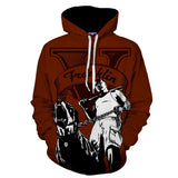 GTA 5 Franklin Main Character Portrait Gaming Art Hoodie - Game Geek Shop
