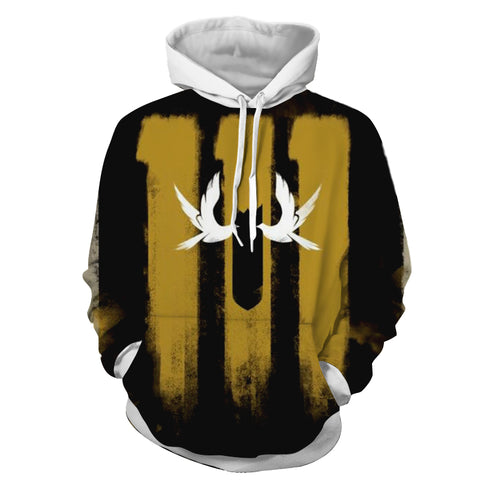 Fallout 4 Vault 111 Game Art Cool Design Hoodie - Game Geek Shop
