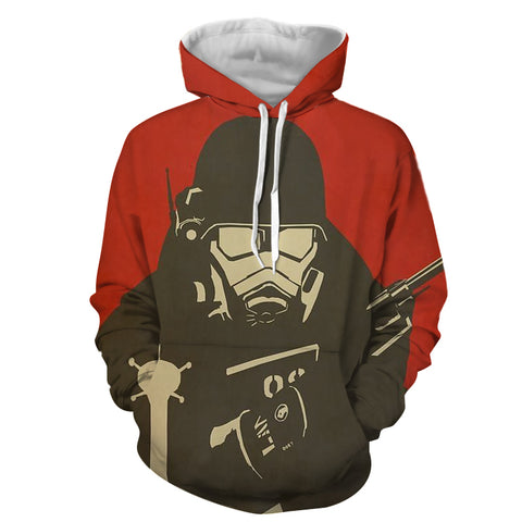 Fallout New Vegas Artwork Gaming Theme Hoodie - Game Geek Shop