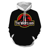 Fallout Deathclaw Jurassic Park Theme Hoodie - Game Geek Shop