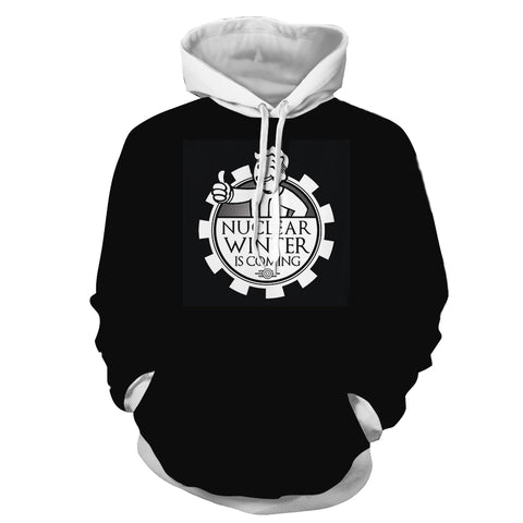 Fallout Cross Game of Throne Design Hoodie - Game Geek Shop