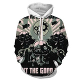 Fallout War Never Changes Power Armor Hoodie - Game Geek Shop