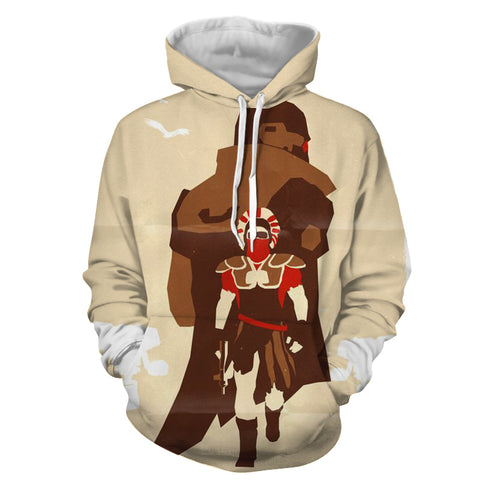 Fallout New Vegas Centurion Game Design Hoodie - Game Geek Shop