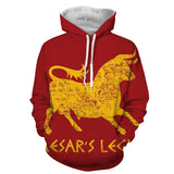 Fallout Caesar's Legion Symbol Game Hoodie - Game Geek Shop