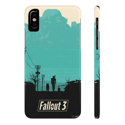 Fallout 3 Game Art Design Cool Phone Case - Game Geek Shop