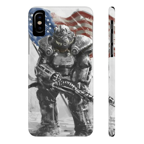 Fallout 4 T-60 Power Armor Dope Design Phone Case - Game Geek Shop