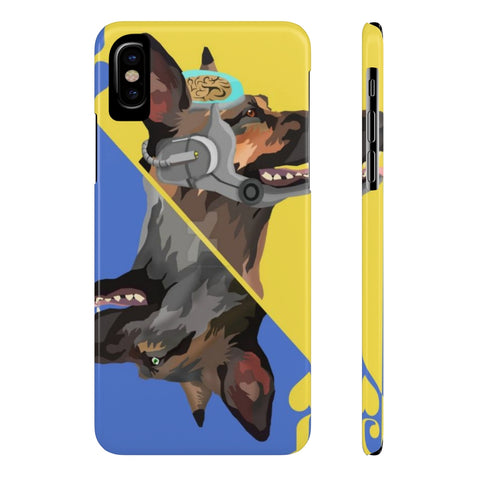 Fallout Dog Meat Card Gaming Theme Phone Case - Game Geek Shop