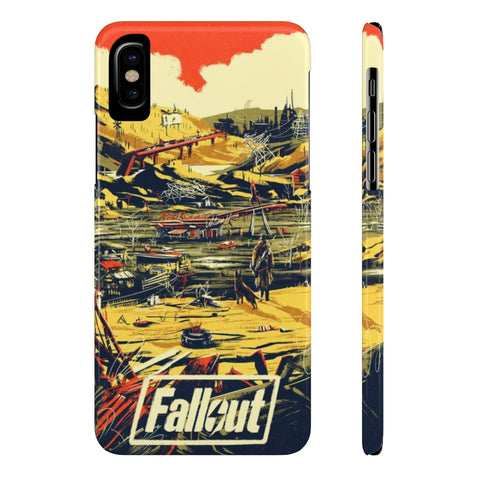 Fallout New Vegas Retro Art Game Design Phone Case - Game Geek Shop