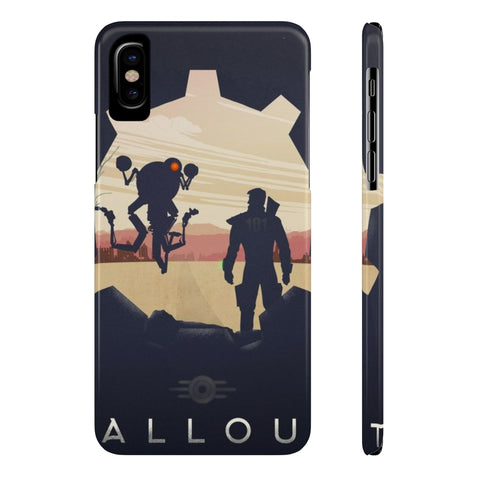 Fallout 4 Sole Survivor Codsworth Vault 111 Phone Case - Game Geek Shop