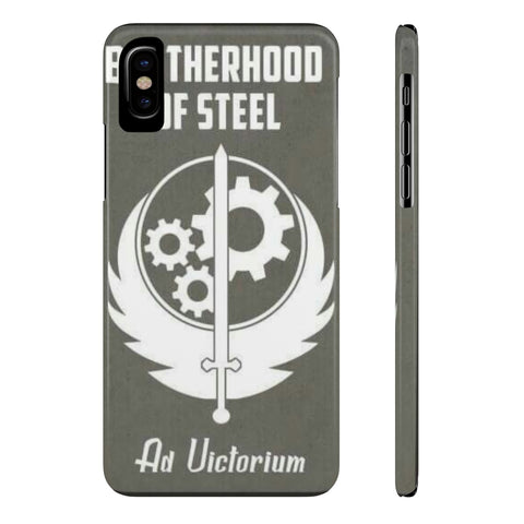 Fallout Brotherhood of Steel Poster Phone Case - Game Geek Shop