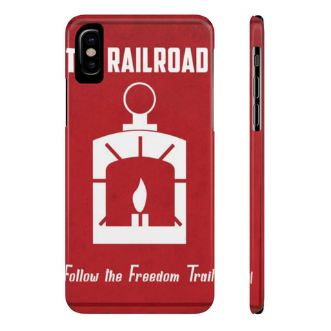 Fallout The Railroad Poster Phone Case - Game Geek Shop