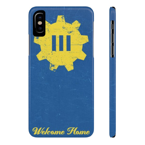 Fallout Vault 111 Symbol Retro Art Phone Case - Game Geek Shop