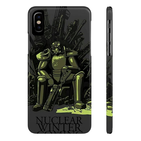 Fallout Game of Throne Crossover Theme Phone Case - Game Geek Shop