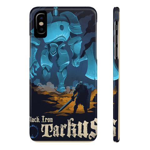 Dark Souls Black Iron Illustration Art Phone Case - Game Geek Shop