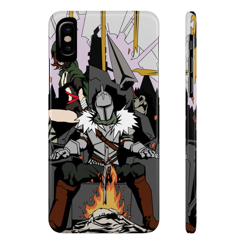 Dark Souls Manga Illustration Art Phone Case - Game Geek Shop