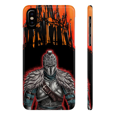 Dark Souls Heroes Game Retro Design Phone Case - Game Geek Shop