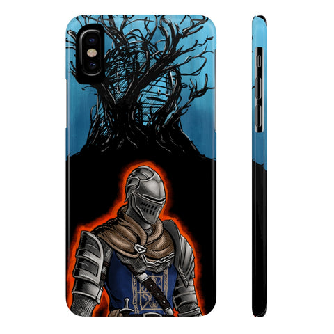 Dark Souls Heroes Game Theme Art Phone Case - Game Geek Shop