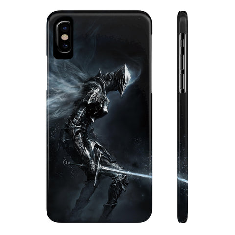 Dark Souls Knight Game Theme Phone Case - Game Geek Shop