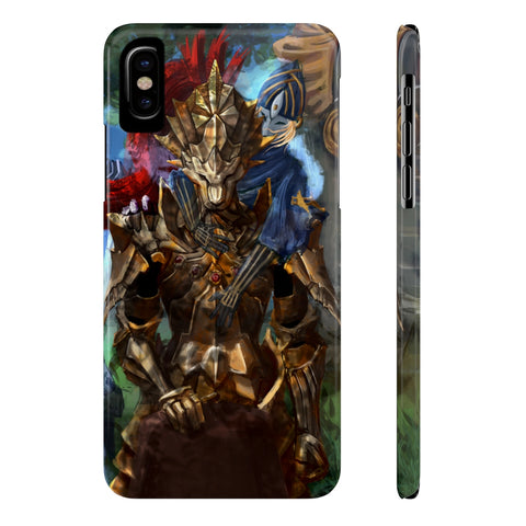 Dark Souls Boss Game Sketch Phone Case - Game Geek Shop