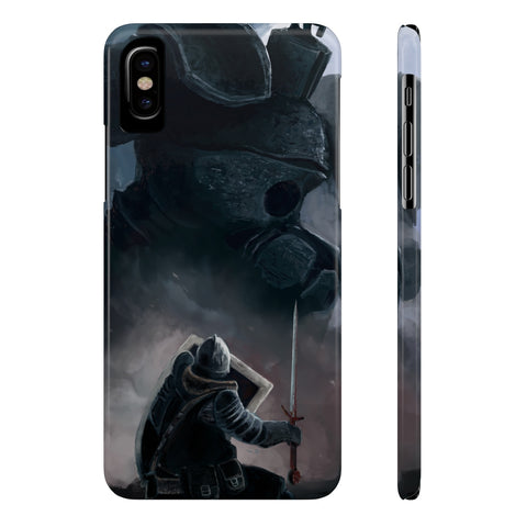 Dark Souls Iron Golem Fight Phone Case - Game Geek Shop